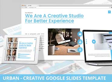 Urban - Creative Agency Google Slides Template