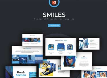 Smiles - Powerpoint Template