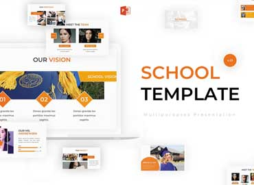 School - Powerpoint Template