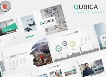 Qubica - Powerpoint Template