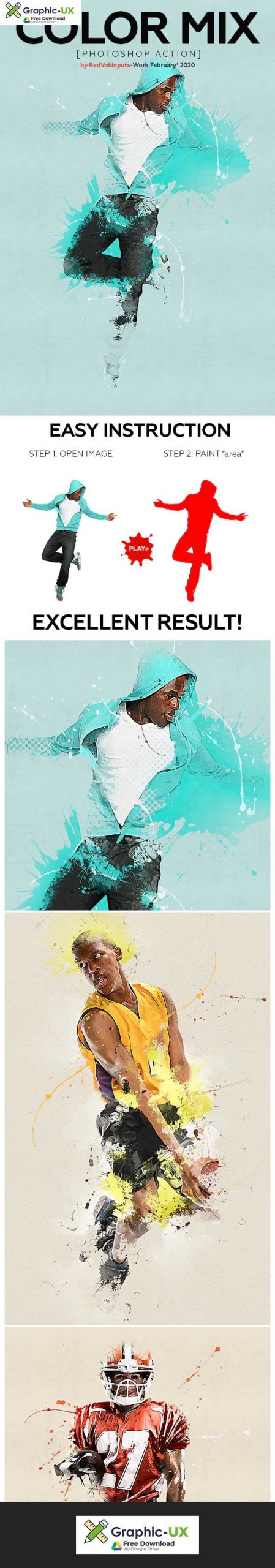 Color Mix Photoshop Action