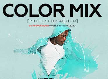 Color Mix Photoshop Action
