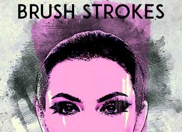 Brush Strokes Photoshop Action