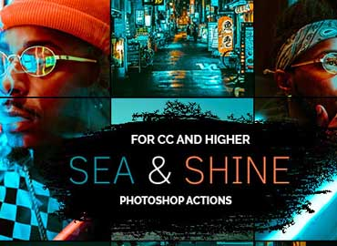 Sea & Shine- Photoshop Actions