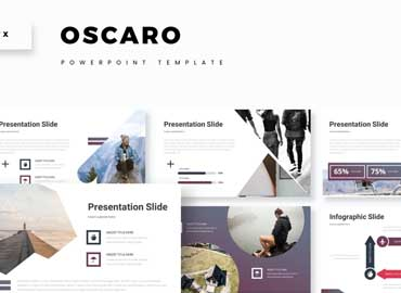Oscaro - Powerpoint Template