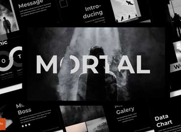 Mortal - Powerpoint Template