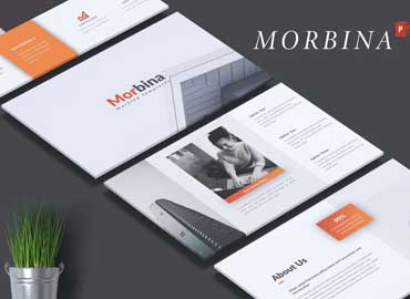 MORBINA - Company Profile Powerpoint Template