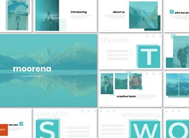 Moorena - Powerpoint Template