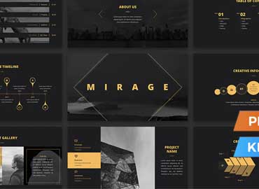 Mirage Presentation Template