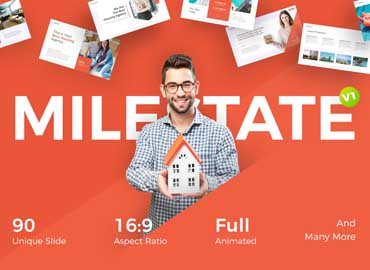 Milestate - Real Estate PowerPoint Template
