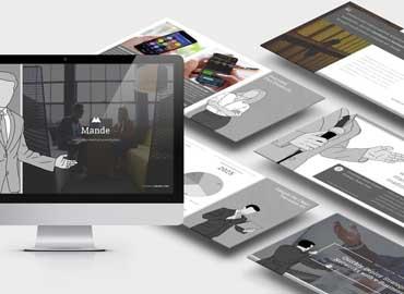 Mande : Business Profile Illustration Powerpoint
