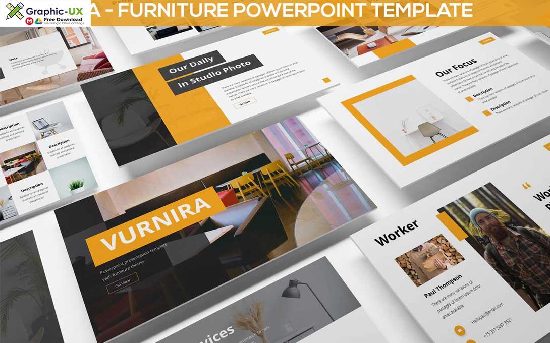 Vurnira - Furniture Powerpoint Template