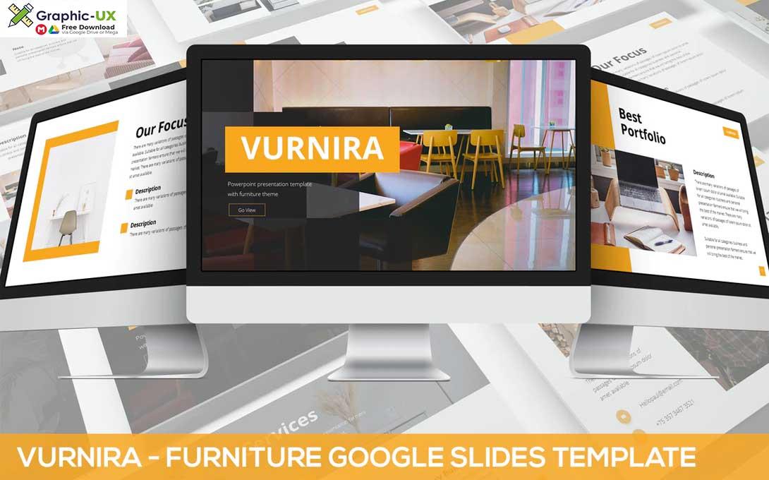 Vurnira - Furniture Google Slides Template
