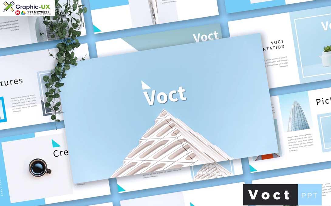 VOCT - Creative Powerpoint Template