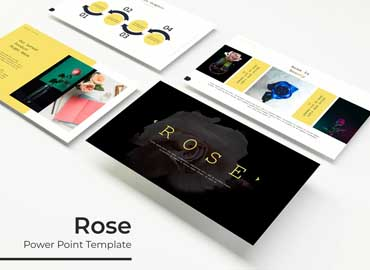 Rose - Powerpoint Template