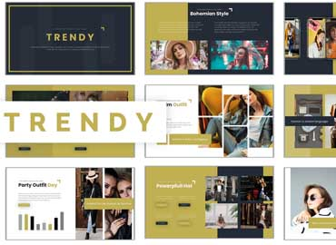 Trendy - Powerpoint Template