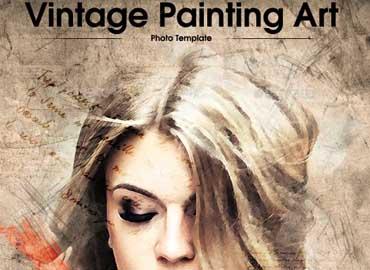 Vintage Painting Art