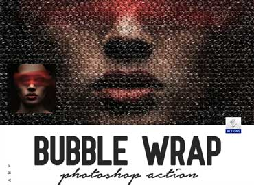Bubble Wrap Photoshop Action
