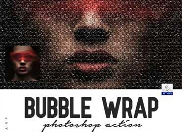 Bubble Wrap Photoshop Action