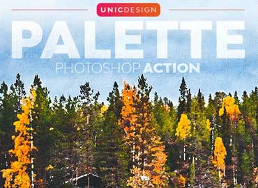 Palette Photoshop Action