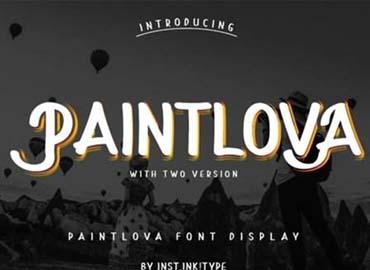 PaintLova Font
