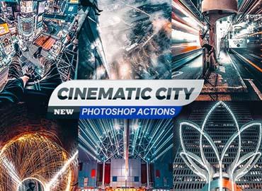 Cinematic City Photoshop Actions