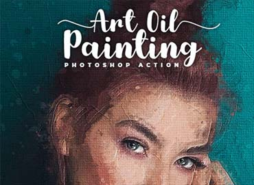 Art Oil Painting Photoshop Action