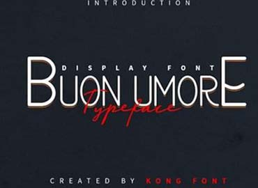 Buon Umore Font