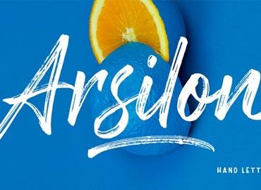 Arsilon Font