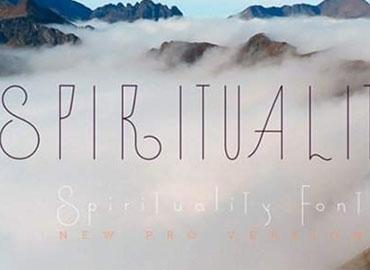 Spirituality Font