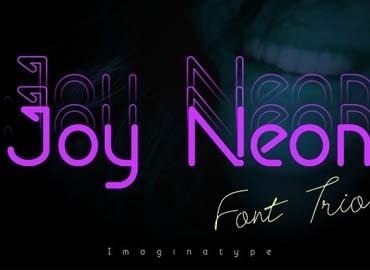 Joy Neon Font