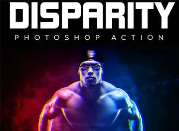 Disparity Photoshop Action