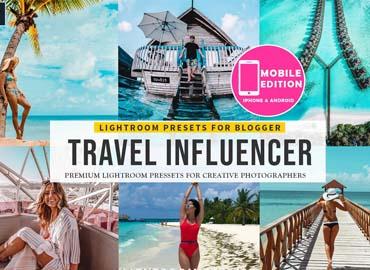 Travel Influencer Starter Kit - 20 Lightroom Presets