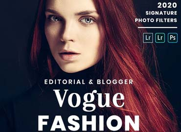 Vogue Fashion - Desktop & Mobile Lightroom Presets