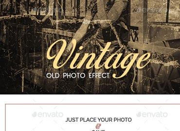Vintage Old Photo Effect