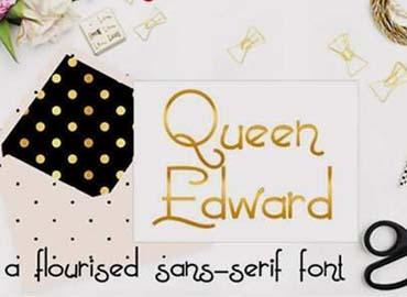 PN Queen Edward Font
