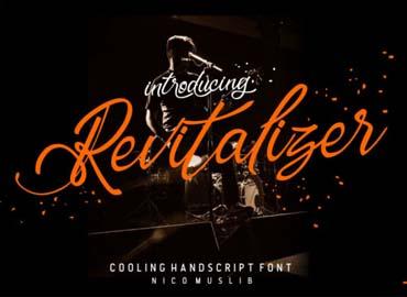 Revitalizer Font