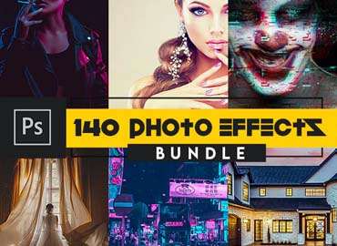 SupremeTones Photo Effects Actions BUDNLE