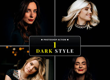 Dark Style Photoshop Action
