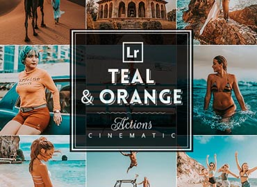 TealxOrange Photoshop Actions
