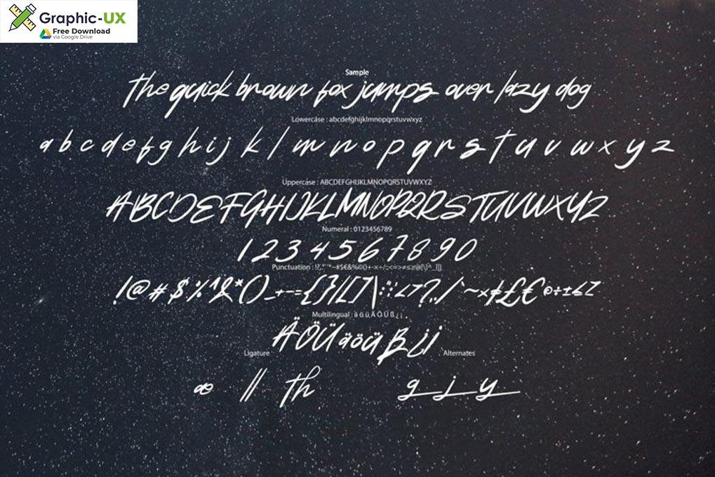Natide Hegibe Modern Typeface Font