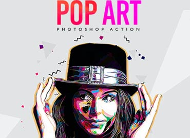 Pop Art - Photoshop Action