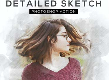 Detailed Sketch Photoshop Action