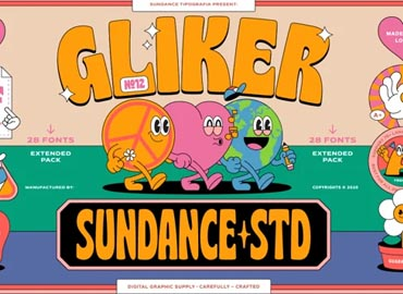 Gliker Font Family
