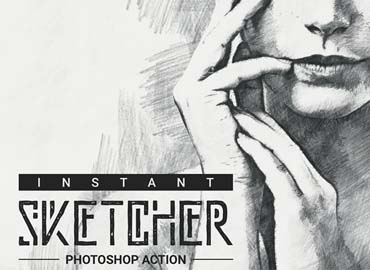 Instant Sketcher Photoshop Action