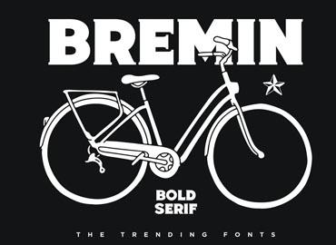 Bremin - Bold Vintage Font