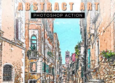 Abstract Art Photoshop Action