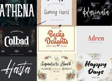 Super Fonts Pack Vol.2 [Aug2020] - 42 Fonts