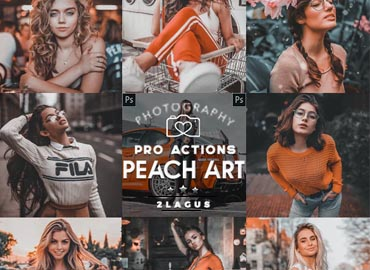Peach ART - Life Styles Actions Photoshop