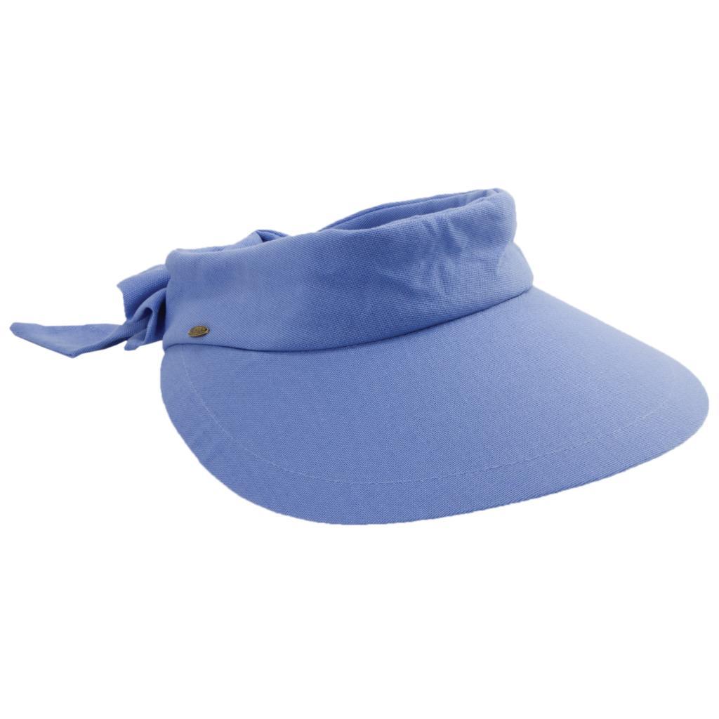 Details about Scala Women s Visor Hat With Big Brim V25 347b72bd16c